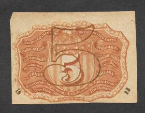 F1233 5c. Fractional Currency, scv: $175