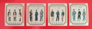 Italy 1974 Italian Excise Guards set MNH**