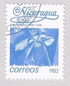 Nicaragua Flower 100 - pickastamp (AP107218)
