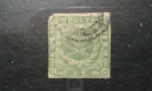 Denmark #5a used bad corner e201.6192