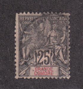 Grand Comoro Scott #10 Used Note
