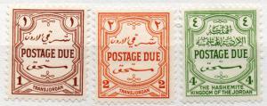 (I.B) Transjordan Postal : Postage Dues