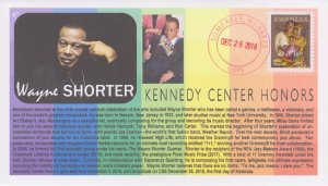 6° Cachets Wayne Shorter jazz legend 2018 Kennedy Center Honoree