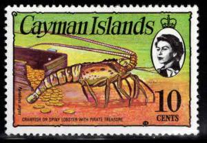 Cayman  Scott 338 MNH** Pirate Treasure stamp