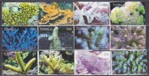 2006 Tuvalu 1291-1302 Sea fauna 25,00 €