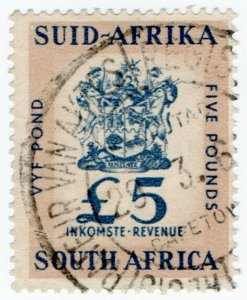 (I.B) South Africa Revenue : Duty Stamp £5