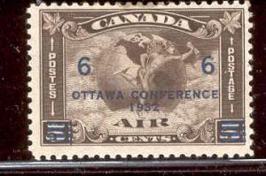 CANADA C4 MINT HINGED, STAINED OTTAWA CONFERENCE 1932