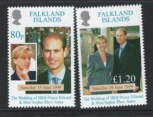 Falkland Islands  MNH sc  729-730