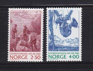 Norway 865-866 Set MNH Electricity