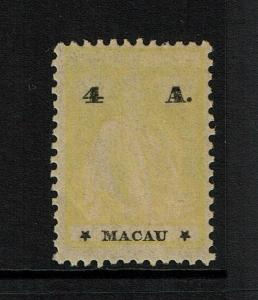 Macao SC# 236, Mint Hinged, Hinge/Page Remnant - S8302