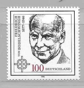 Germany 1916 von Bodelschwingh single MNH