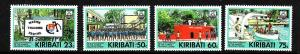 Kiribati-Sc#591-4-Unused NH set-Marine Training Centre-1992-please note there is
