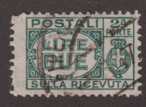 Italy Q32 Parcel Post Stamps - right side 1932
