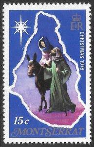 [21916] Montserrat Mint Never Hinged