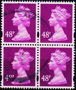 Great Britain. 2008? 48p(Block of 4). Fine Used