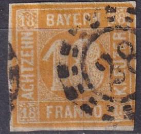 Bavaria #8 F-VF Used   CV $190.00  Z499