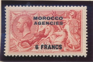 Great Britain, Offices In Morocco Stamp Scott #419, Mint Hinged - Free U.S. S...