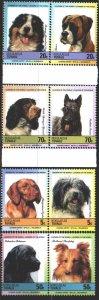 Tuvalu. 1985. 33-40. Dogs. MNH.
