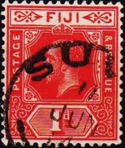 Fiji. 1912 1d S.G.127 Fine Used