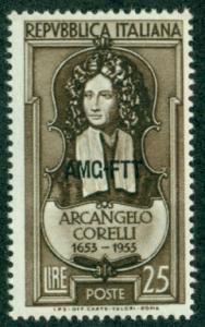 Trieste #168  Mint  F-VF NH  Scott $3.25  Corelli, Composer