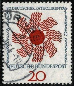 GERMANY 1964 80th CATHOLICS' DAY USED (VFU) P.14 SG1349 SUPERB