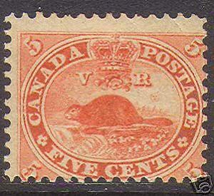 Canada #15 NH Mint