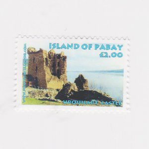 PABAY, British Local - 2007 - Uquhart Castle - Perf MNH Single Stamp