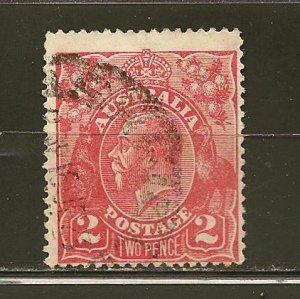 Australia 28 King George V Used