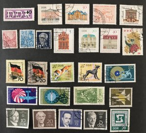 DDR Used lot #110920, 26 different issues, CV $ ?????