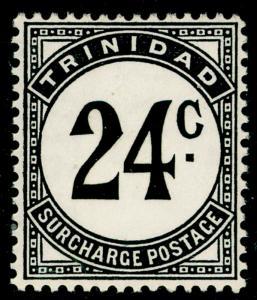 TRINIDAD & TOBAGO SG D33a, 24c black, NH MINT. Cat £14.