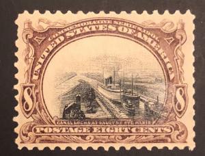 TangStamps US Stamp #298 Mint OG H Error Shifted Pan America