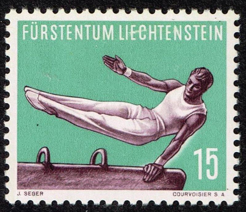 Liechtenstein Stamp 1957 Gymnastics MH/OG STAMP 15 RP
