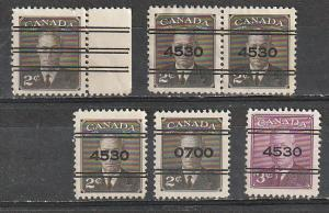 #285xx,286xx Canada Used Precancels