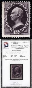 US Sc 162 Unused Disturbed Original Gum PSE Cert