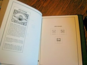 AMERICAN HEIRLOOM COLLECTION OF UNITED STATES STAMPS - 2 VOLUMES - NO STAMPS