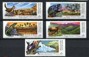 Argentina 1989 wild animals fauna national parks set of 5v MNH