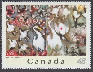 Canada - #2002b Jean-Paul Riopelle - Art - MNH