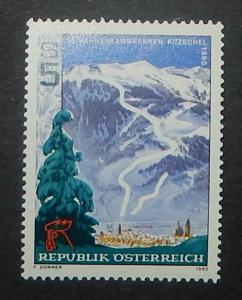 Austria 1487. 1990 Hahnenkamm Alpine Competition, NH