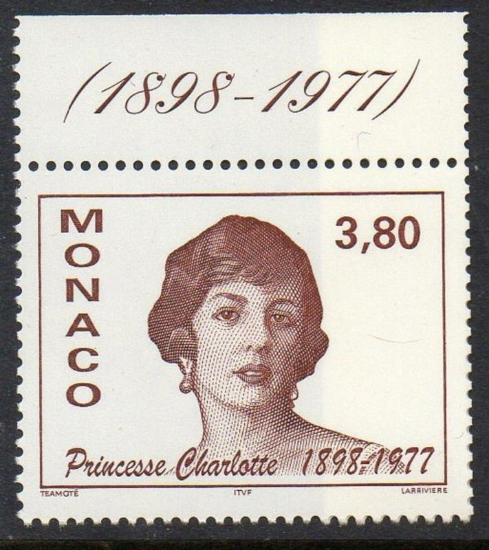 Monaco 1997 Princess Charolette VF MNH (2058)
