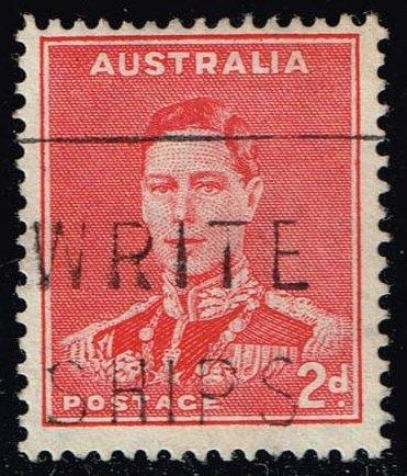 Australia #182 King George VI; Used (0.30)