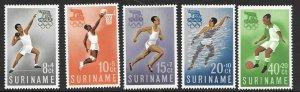 Suriname B75-79   1960  set 5 Unused