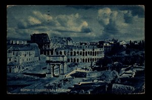 Italy 1922 View of Colosseum PPC / Used - L11101