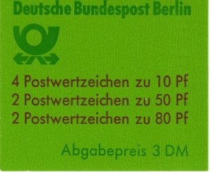 Germany #9N552a Complete Booklet  CV $22.50 (X2219)