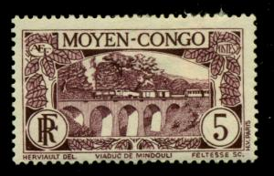 Middle Congo 1933 #68 MH SCV(2018)=$0.50