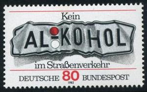 Germany 1376,MNH.Michel 1145. Don't drink and drive,1982.