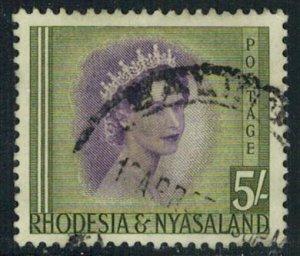 Rhodesia and Nyasaland Scott 153 Used.