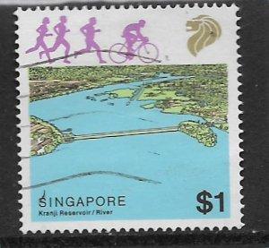 SINGAPORE, 510, USED, KRANJI RESERVOIR/RIVER