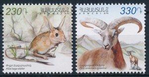 2012 Armenia 819-20 Fauna 4,50 €