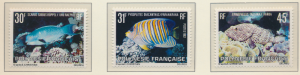 French Polynesia Stamps Scott #355 To 357, Mint Never Hinged - Free U.S. Ship...