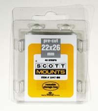 Scott Mounts Black 22/26mm, Pgk. 40 ea. (01047B)